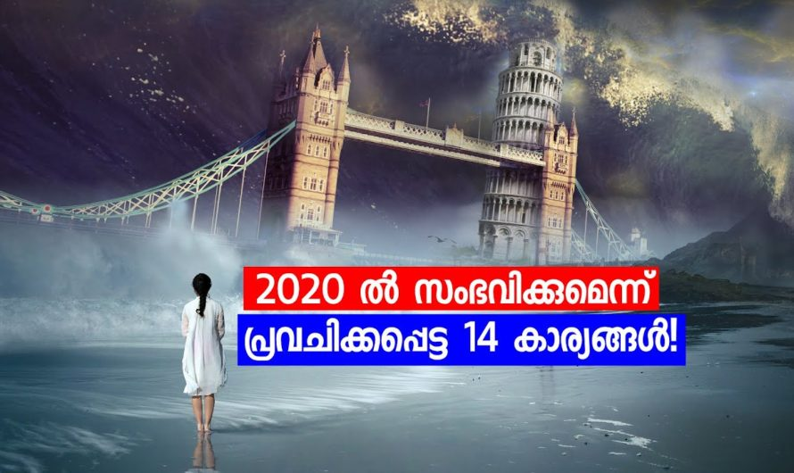 2020 ൽ സംഭവിക്കുമെന്ന് പ്രവചിക്കപ്പെട്ട 14 കാര്യങ്ങൾ!